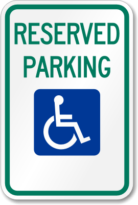Disabled Parking Sign