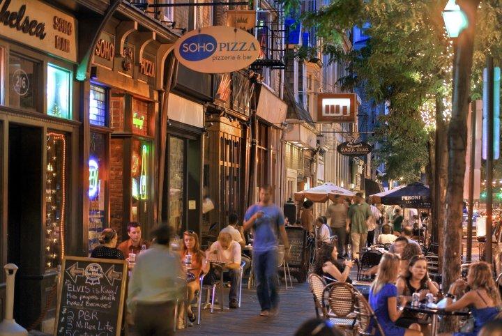 Old City Night Life