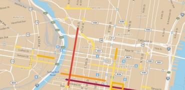 bike lane data map