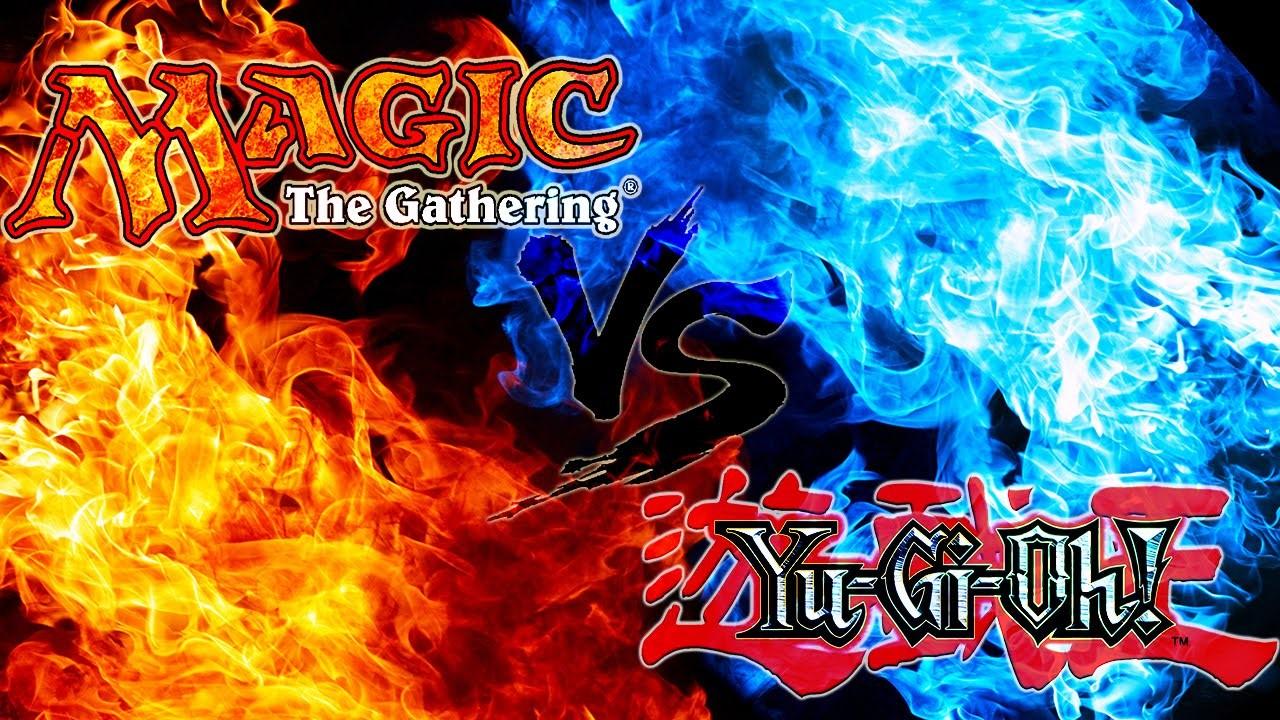 Magic vs YuGiOh