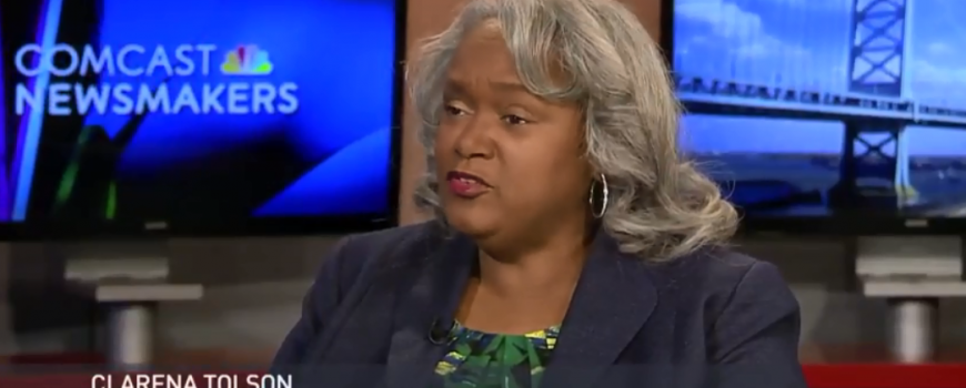 Clarena Tolson - Newsmakers