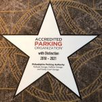 "Philadelphia Parking Authority Receives Accreditation ""with Distinction"" from  the International Parking Institute"