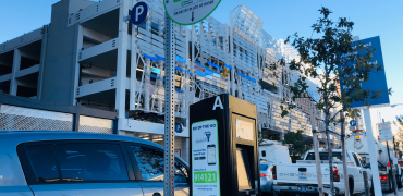 Pay-by-Plate Kiosk