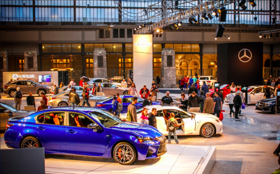 Where To Park For The Philadelphia Auto Show The Philadelphia - Auto convention